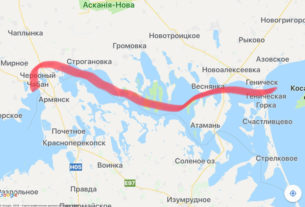 Азово-Черноморский канал разрушит экосистему Азовского моря